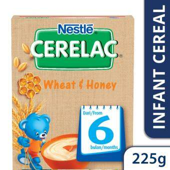 NESTLE CERELAC Wheat & Honey Infant Cereal Box Pack (1 Pack of 225g)