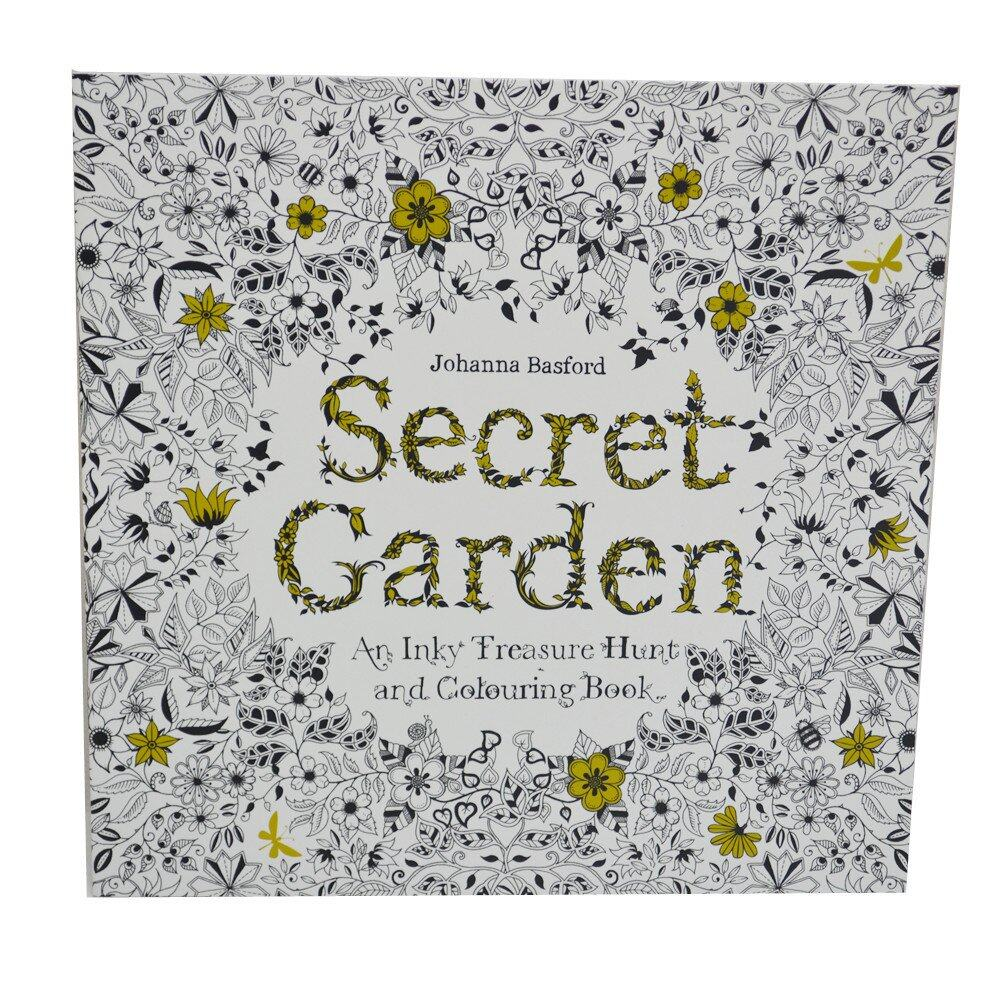 Secret Garden Coloring Book2 In 1 Lazada Malaysia