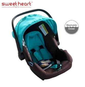 Sweet Heart Paris CS28 Love Story Car Seat Cum Carrier Free ACC FAN