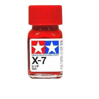 tamiya color enamel paint x 7 red - Tamiya Color