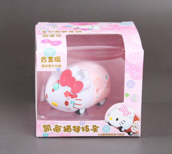 Warrior Hello Kitty girl toys small car-drop resistance