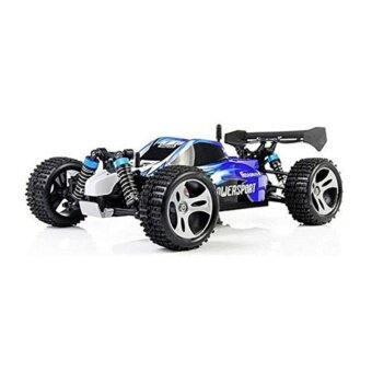 Wltoys A959 Vortex 1/18 2.4G 4WD Electric RC Car Off-RoadIndependent Suspension Buggy RTR-Blue
