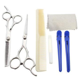 6 0 pro salon barber hair cutting thinning scissors