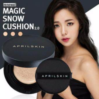 April Skin Magic Snow Cushion Natural Beige Review