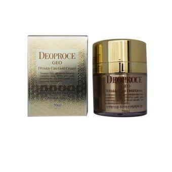 deoproce geo wrinkle care gold cream 50 ml | lazada malaysia