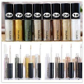 Fashion Eyeliner Eye liner Glitter Liquid Pencil Shiny Beauty Cosmetic 8colors