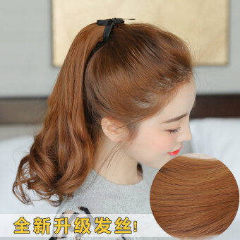 Girl's pear big wave wig
