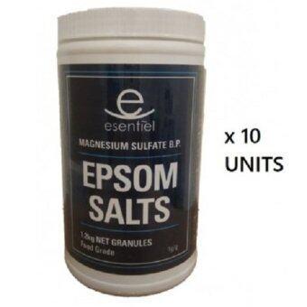 Malaysia Prices [10 Bottle] Epsom Salt 1.2kg
