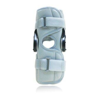 Knee Support With Bilateral Hinges Hinged Medical Knee BracePatella Compression Kneepad