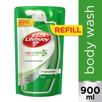 Lifebuoy Clini - Shield 10 Shower Gel Fresh Refill 900 ml