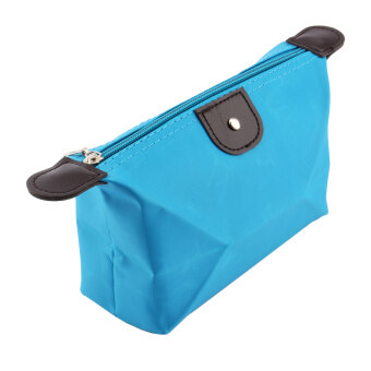 Portable Multifunction Travel Cosmetic Bag Makeup Case(Blue)