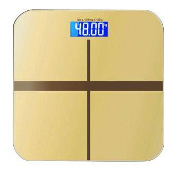 Precision Household Weighing Scale, Digital Bathroom Scales, Body Weight Loss Measuring Machine With LED Backlight Display, 400 Pounds Capacity