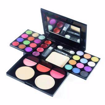 Puff Palette eye shadow Lip Gloss concealer Powder Blusher Eyeshadow