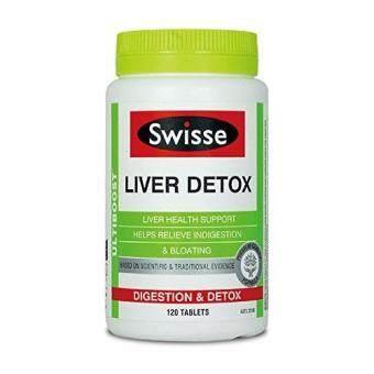 Swisse Ultiboost Liver Detox Digestion & Detox 120 Tablets