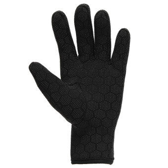 1.5mm Neoprene Diving Scuba Fishing Water Sport Textured PalmsGloves Black L