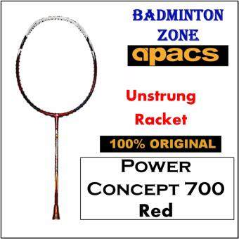 Apacs Power Concept 700 Red (Unstrung) Badminton Racket