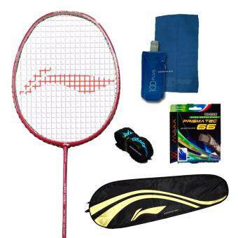 Malaysia Prices Li-Ning Racket SS99 Red (Free String, Grip & Strung)+Free Gift