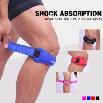 Knee Strap for Outdoor Sports Adjustable Patellar Tendon PainRelief and Support Brace from Jumper's Knee (Black)