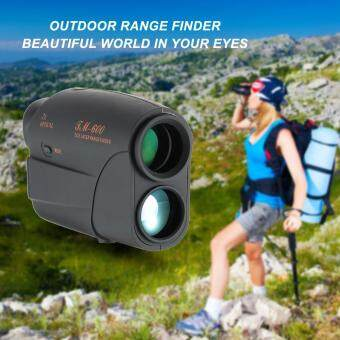 Outdoor Compact 7X25 Rangefinder 600m Range Finder Golf Rangefinder Hunting Monocular Telescope Distance Meter Speed Tester