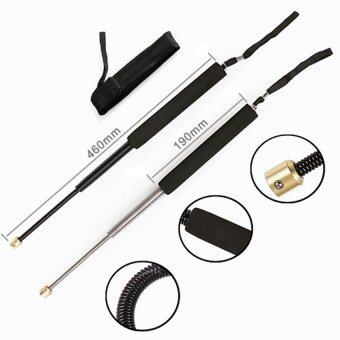 Police/Guard Extendable Telescopic Whip Baton - Black