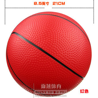 PVC Green no non-toxic small basketball