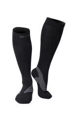 Spakct Compression Men Sports Nylon Socks Running Marathon Cycling Football Blue