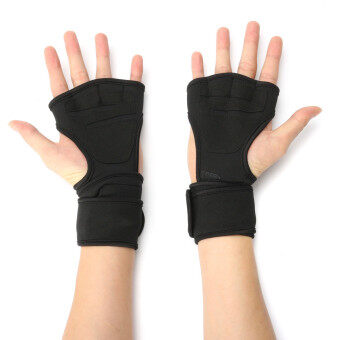 XL Fitness Gloves Weight Lifting Gym Workout Sport Exercise Training Wrist Wrap