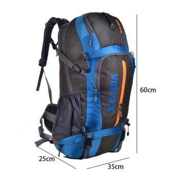 YINGGG 60L Large Capacity Bag Men Women Waterproof Travel Backpack Outdoor Camping Backpack Climbing Backpack Hiking Backpack Bagpack Sport Back Backpack Daypack