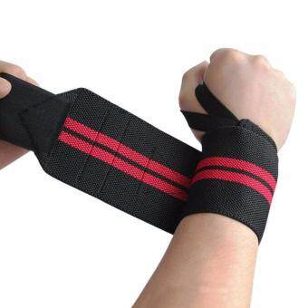 1Pcs Hand Bands Weight Lifting Sports Wristband Gym Wrist ThumbSupport Straps Wraps Bandage