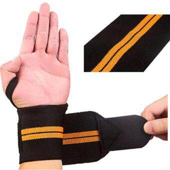 1Pcs Hand Bands Weight Lifting Sports Wristband Gym Wrist ThumbSupport Straps Wraps Bandage Fitness Training