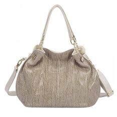 360DSC Snake Skin Genuine Leather Handbag Tote Bag Crossbody Bag Shoulder Bag Womens .