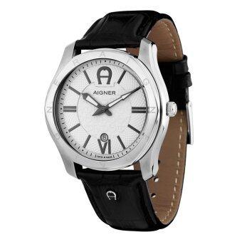 aigner lazio a42116 mens watch silver lazada