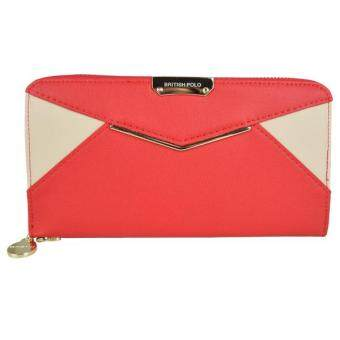 British Polo Women Latest Classic Wallet (Red)