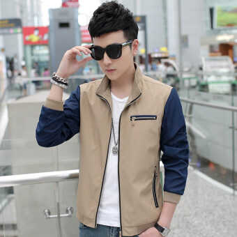 Casual New style Spring and Autumn thin jacket men's jacket (Casual color)