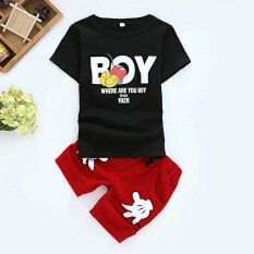 childrens clothing 2 children 4 short sleeved clothes 5 boyssummer suit 6 summer 1 3 year old children casual sports two pieceboy black t shirt red pants 1501884871 10079076 ee1e99bd660edc3ef4eee9f1827bdafa catalog_233 clothing buy clothing at best price in malaysia www lazada com my,Childrens Clothes Under 5 Pounds