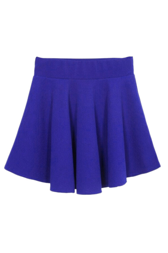 Hang-Qiao Women Pleated Mini Skirt with Shorts Navy Blue | Lazada ...