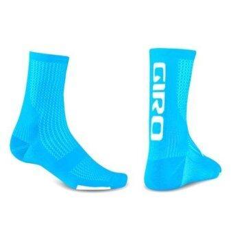 GIRO HRC Team Cycling Socks Blue