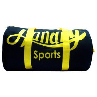 Handry Nt1480 Travelling Gym Bag Black Yellow Lazada