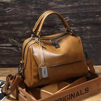 Malaysia Prices New fashion handbag portable Shoulder Satchel Handbag simple lady bag