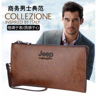 Malaysia Prices RAYA OFFER JEEP NEW Professional Men Fashion Leather Hand Bag