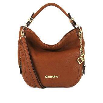Malaysia Prices Carlo Rino 0303016-001-25 Hobo tote (Medium Brown)