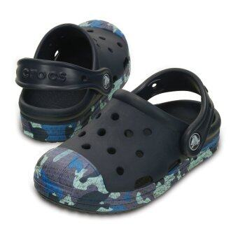 Malaysia Prices Kids' Crocs Bump It Camo Clog (Navy)