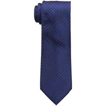 Malaysia Prices Van Heusen Mens Franklin Unsolid Solid Flex Tie, Dark Navy, One Size