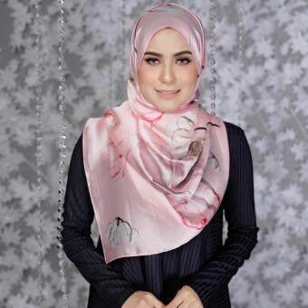 Jelitasara X Lazada Pure Silk Long Shawl (Pink Taffy)