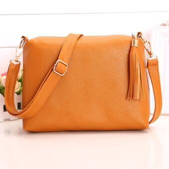 Kstyle 9207 Elegant Korean Casual Design Sling Bag (Brown ...