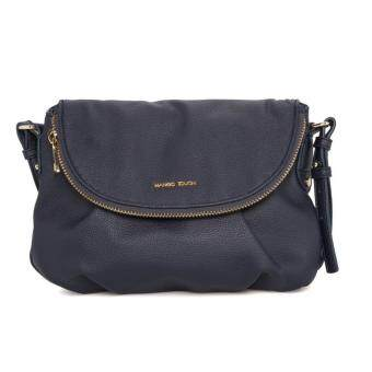 MNG Double Compartment Cross Body Bag (Blue)