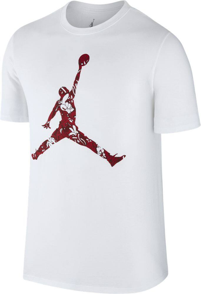 Nike Mens Air Jordan Jumpman Hands Down T Shirt (White) | Lazada Malaysia