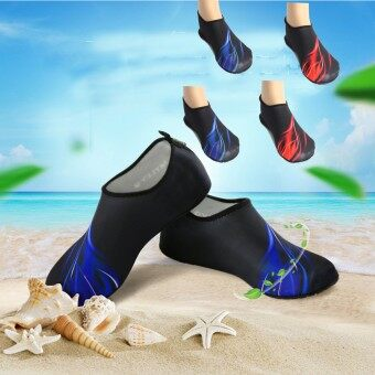 Outdoor Water Sport Neoprene Scuba Diving Swim Snorkeling Socks Surf Beach Shoes Men/Women Red M