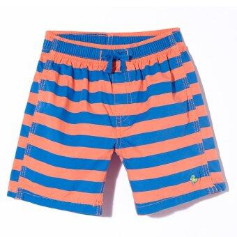 PONEY Boy Bengal Stripes Bermuda (Orange)