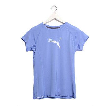 Puma Pe Running Short Sleeve Logo Women's Tee